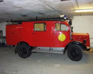 Erstes Löschgruppen-Fahrzeug: LF8