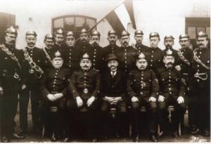 Die Gründungsmitglieder von 1904